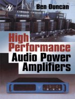 High Performance Audio Power Amplifiers