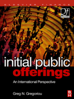 Initial Public Offerings (IPO): An International Perspective of IPOs