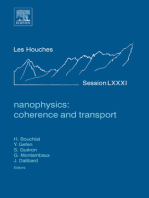 Nanophysics: Coherence and Transport: Lecture Notes of the Les Houches Summer School 2004
