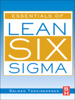 Essentials of Lean Six Sigma