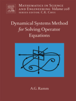 Dynamical Systems Method for Solving Nonlinear Operator Equations