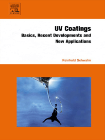 UV Coatings: Basics, Recent Developments and New Applications