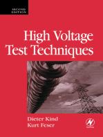 High Voltage Test Techniques