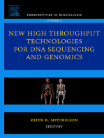 New High Throughput Technologies for DNA Sequencing and Genomics