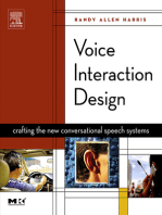 Voice Interaction Design