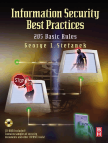 Information Security Best Practices: 205 Basic Rules