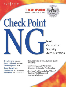 Checkpoint Next Generation Security Administration by Syngress
