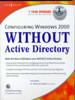 Configuring Windows 2000 without Active Directory