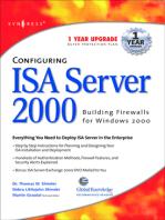 Configuring ISA Server 2000