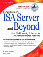 Dr Tom Shinder's ISA Server and Beyond