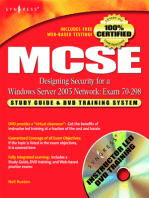 MCSE Designing Security for a Windows Server 2003 Network (Exam 70-298): Study Guide & DVD Training System
