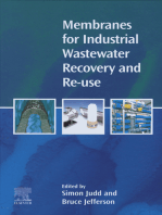 Membranes for Industrial Wastewater Recovery and Re-use