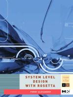 System Level Design with Rosetta