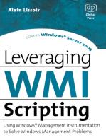 Leveraging WMI Scripting