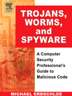 Trojans, Worms, and Spyware