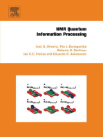 NMR Quantum Information Processing