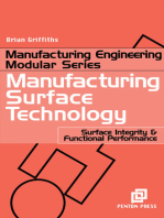 Manufacturing Surface Technology: Surface Integrity and Functional Performance
