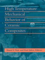 High Temperature Mechanical Behaviour of Ceramic Composites