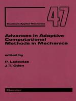 Advances in Adaptive Computational Methods in Mechanics