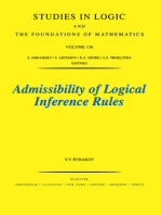 Admissibility of Logical Inference Rules