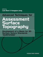 "Advanced Techniques for Assessment Surface Topography: Development of a Basis for 3D Surface Texture Standards ""Surfstand"""