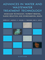 Advances in Water and Wastewater Treatment Technology: Molecular Technology, Nutrient Removal, Sludge Reduction, and Environmental Health