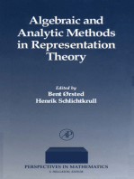 Algebraic and Analytic Methods in Representation Theory