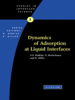 Dynamics of Adsorption at Liquid Interfaces
