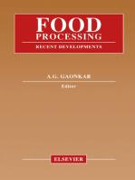 Food Processing: Recent Developments