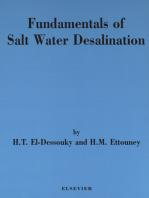 Fundamentals of Salt Water Desalination