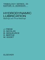 Hydrodynamic Lubrication: Bearings and Thrust Bearings