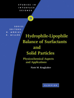 Hydrophile - Lipophile Balance of Surfactants and Solid Particles