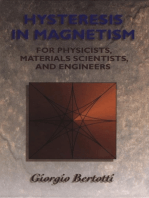Hysteresis in Magnetism: For Physicists, Materials Scientists, and Engineers