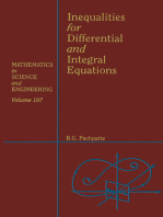 Inequalities for Differential and Integral Equations