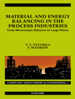 Material and Energy Balancing in the Process Industries