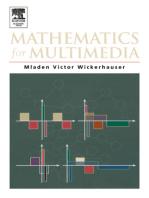 Mathematics for Multimedia