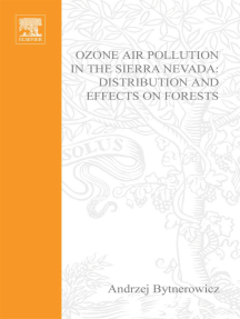 Ozone Air Pollution in the Sierra Nevada - Distribution and Effects on Forests