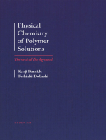 Physical Chemistry of Polymer Solutions
