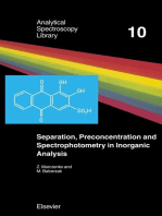 Separation, Preconcentration and Spectrophotometry in Inorganic Analysis