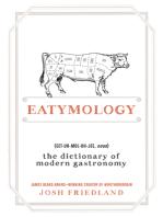 Eatymology