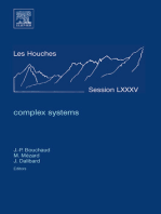Complex Systems: Lecture Notes of the Les Houches Summer School 2006