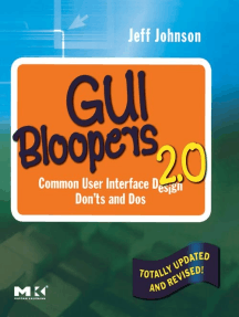 GUI Bloopers 2.0: Common User Interface Design Don'ts and Dos