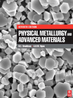Physical Metallurgy and Advanced Materials