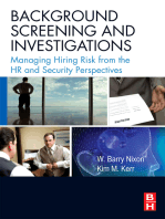 Background Screening and Investigations