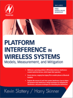 Platform Interference in Wireless Systems: Models, Measurement, and Mitigation