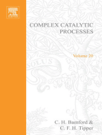 Complex Catalytic Processes