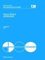 János Bolyai Appendix
