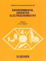 Environmental Oriented Electrochemistry