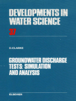Groundwater Discharge Tests