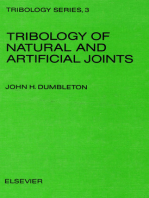 Tribology of Natural and Artificial Joints